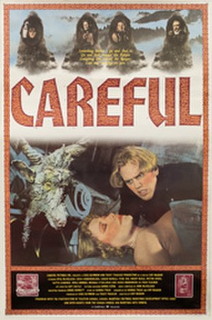 Careful (1992 film) - Image: Carefulposter