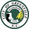 Official seal of Greenville, North Carolina
