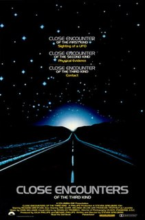 <i>Close Encounters of the Third Kind</i> 1977 science fiction film by Steven Spielberg