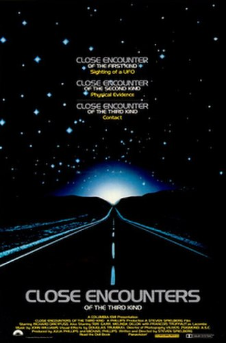 Close Encounters of the Third Kind - Theatrical release poster