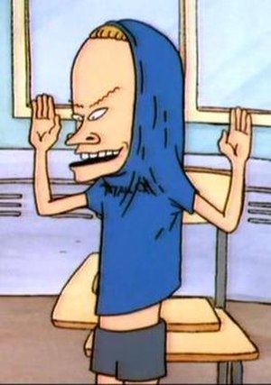 Beavis - Beavis as the Great Cornholio.