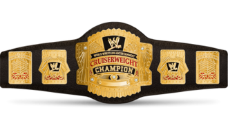 WWE Cruiserweight Championship (1991–2007) - The WWE Cruiserweight Championship belt (2002–2007)