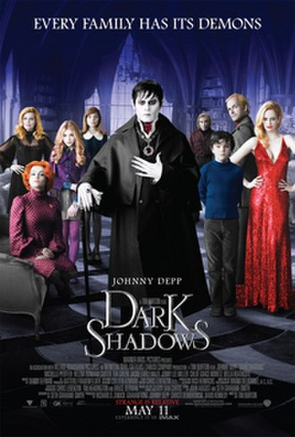 Dark Shadows (film) - Theatrical release poster