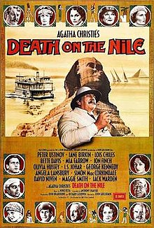 Image result for agatha christie film death on the nile