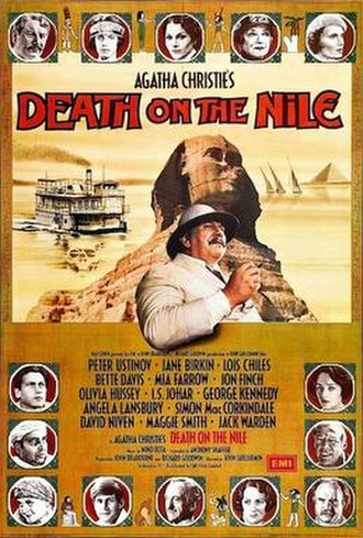 Death on the Nile (1978 film) - UK original film poster