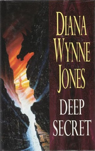 Deep Secret - Julie Bell cover of early US editions  (Tor Books, 1999–2000)