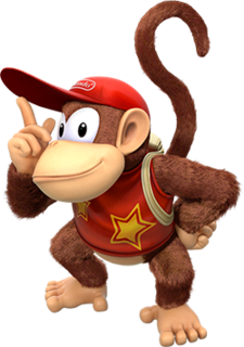 Diddy Kong fictional monkey from the Donkey Kong series