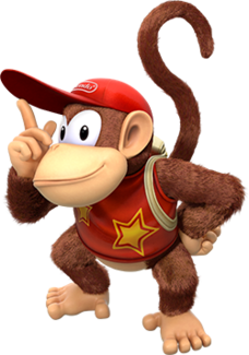 Diddy Kong fictional character from the Donkey Kong series