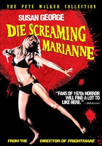 Die Screaming, Marianne - Cover of a 2006 DVD release.