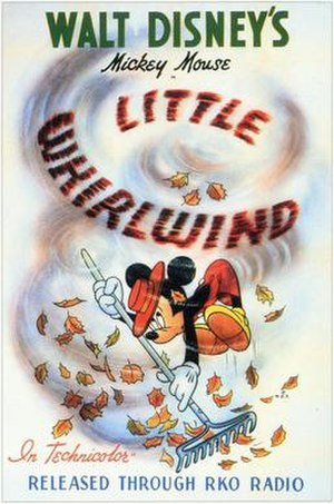 The Little Whirlwind - Theatrical poster