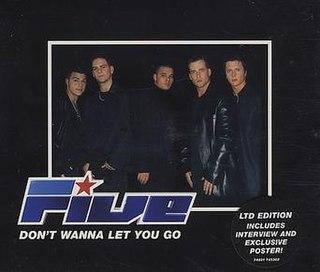 Dont Wanna Let You Go 2000 single by Five