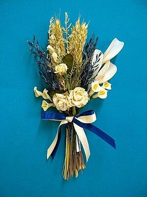 Bomboniere - Image: Dried flowers