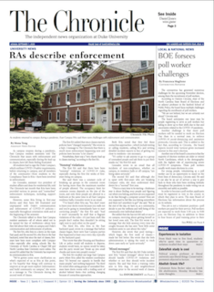 <i>Duke Chronicle</i> Student newspaper of Duke University