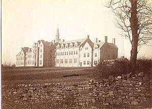 Barnard Castle School - An early photograph of the school.