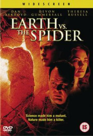 Earth vs. the Spider (2001 film) - DVD Cover Art