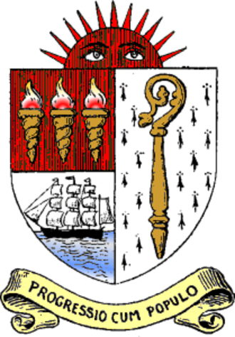 County Borough of East Ham - Unofficial coat of arms of East Ham Borough Council