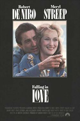 Falling in Love (1984 film) - Theatrical release poster