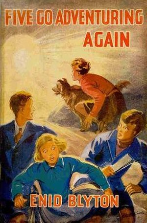 Five Go Adventuring Again - Original First edition cover