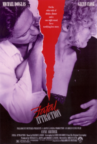 Fatal Attraction - Theatrical release poster