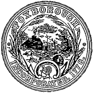 Foxborough, Massachusetts - Image: Foxborough Seal