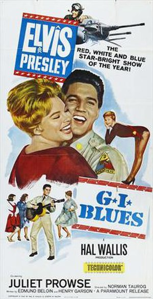 G.I. Blues - Image: G.I. Blues Poster