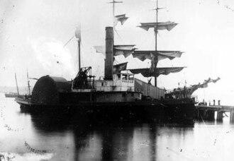 Goliah (steam tug 1849) - Image: Goliah (steam tug built 1849)