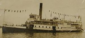 Claiborne–Annapolis Ferry Company - Image: Gov Harrington ferry