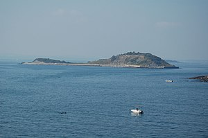 Great Brewster Island - Great Brewster Island viewed from Outer Brewster Island.