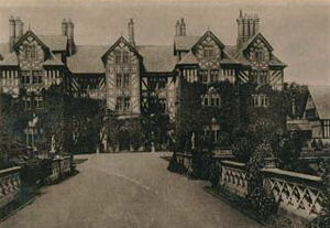 Gregynog Hall - Gregynog Hall built in its present form in the 1840s