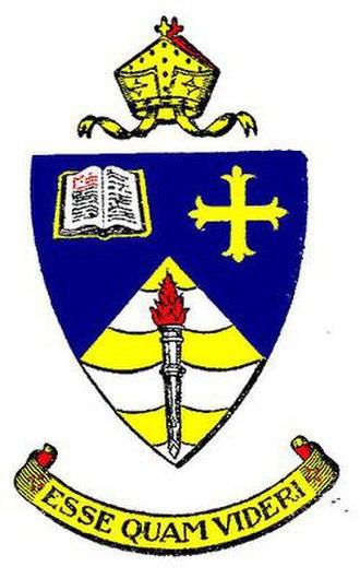 The Hermitage (Australia) - The school badge and motto - Esse quam videri