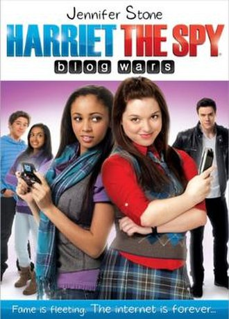 Harriet the Spy: Blog Wars - DVD cover