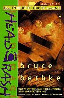 <i>Headcrash</i> book by Bruce Bethke
