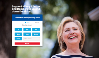 Hillary Victory Fund joint fundraising committee