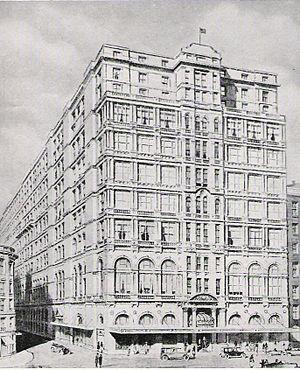 Castlereagh Street - Image: Hotel Australia 1932