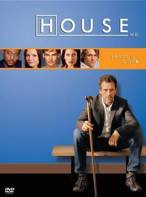 House (season 1) - Image: House MD s 1 UK DVD