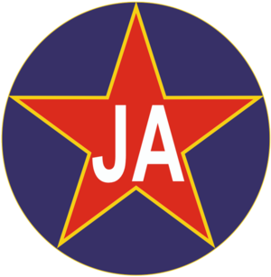 Yugoslav Army (basketball team) - Image: JA basket logo