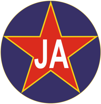 Yugoslav Army (basketball team) - Image: JA basket logo