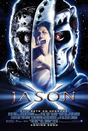 Jason X - Original theatrical release poster