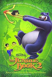 <i>The Jungle Book 2</i> 2003 Disney animated film directed by Steve Trenbirth