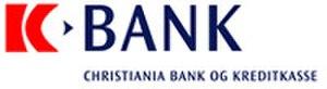 Christiania Bank - Image: Kbank logo