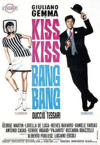 Kiss Kiss...Bang Bang - Theatrical release poster