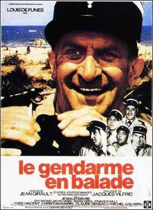 Le gendarme en balade - Theatrical release poster