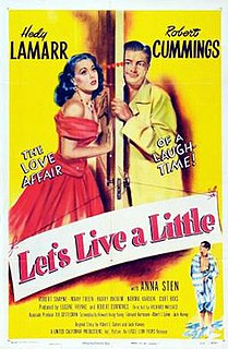 <i>Lets Live a Little</i> 1948 film by Richard Wallace