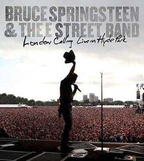 <i>London Calling: Live in Hyde Park</i> 2010 film by Columbia Records