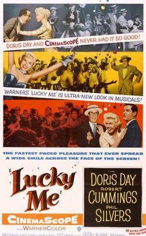 Lucky Me (film) - Theatrical film poster