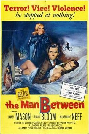 The Man Between - Theatrical release poster