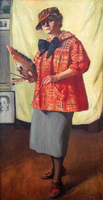 Margaret Fitzhugh Browne - Self Portrait