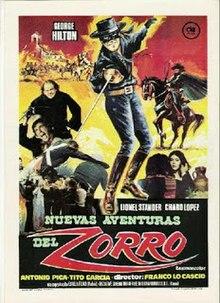 Mark Of Zorro 1975 Film Wikipedia