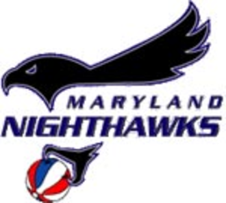 Washington GreenHawks - Logo used by the Nighthawks when they were in the ABA