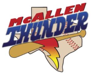 Texas Thunder (baseball) - Image: Mc Allen Thunder